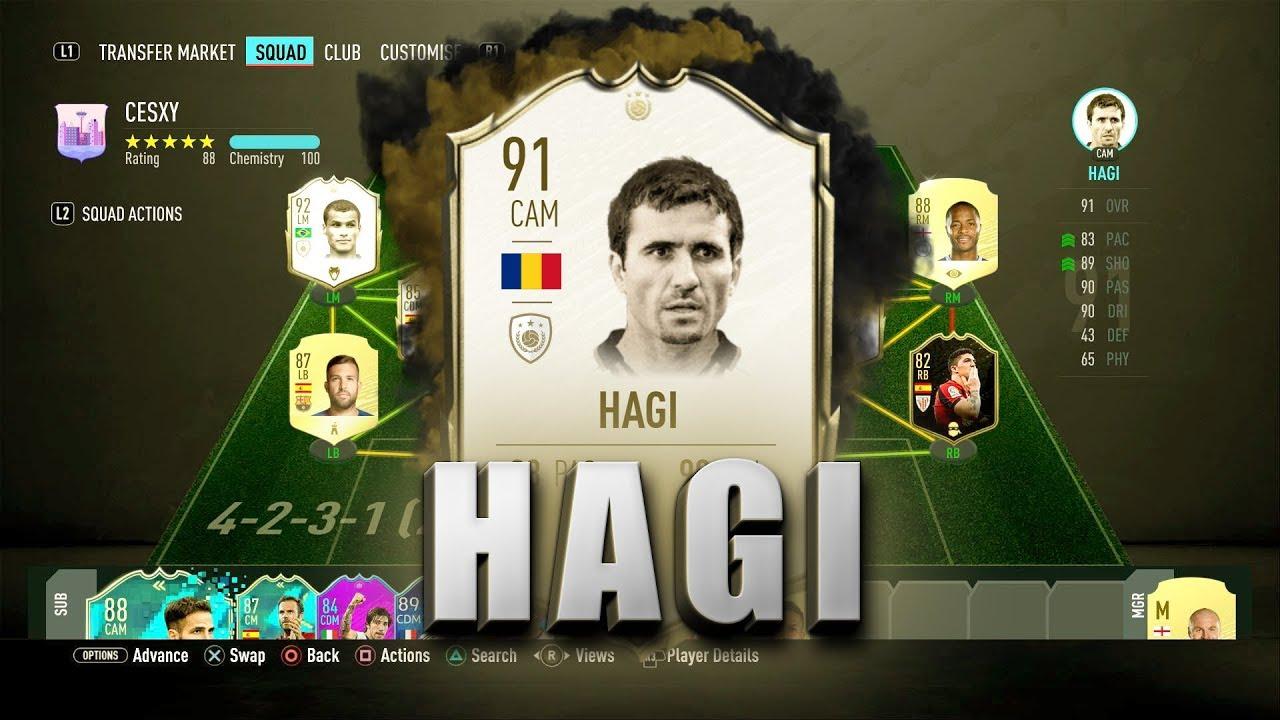Bên cạnh ưu điểm, Hagi vẫn có một vài thiếu sót nhỏ.