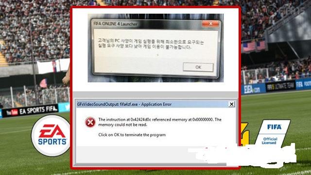 Lỗi thông báo tiếng Hàn hoặc Gfx ngoài desktop